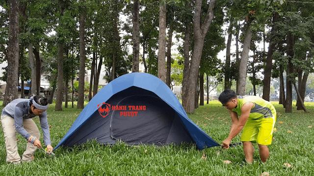 Hướng dẫn dựng lều