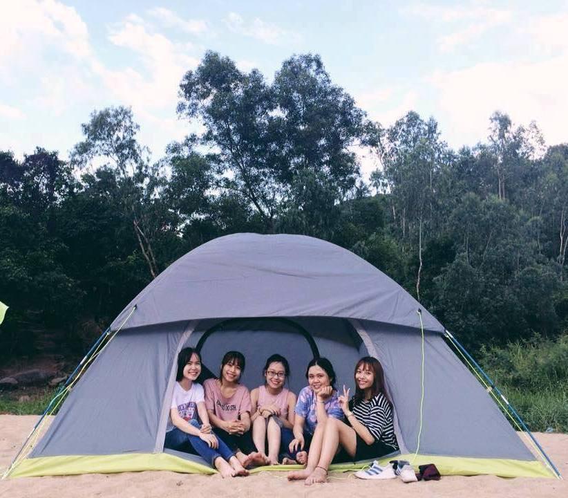 Cho thuê lều cắm trại 10 người