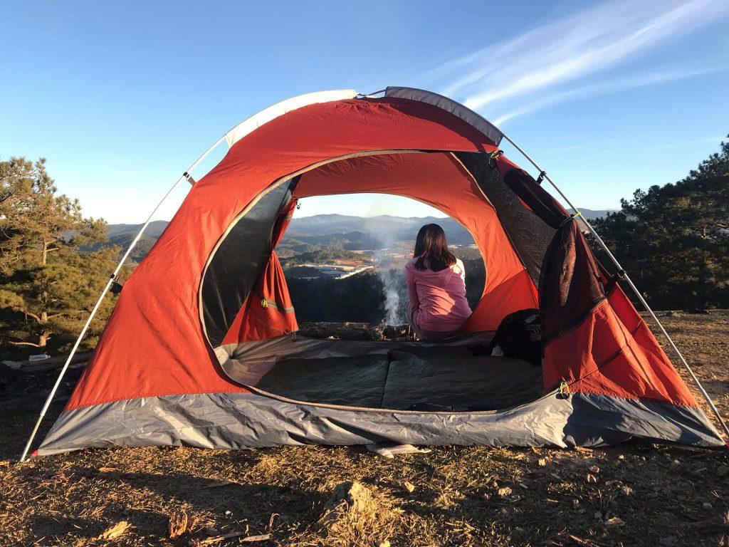 Thuê lều cắm trại 4 người hcm