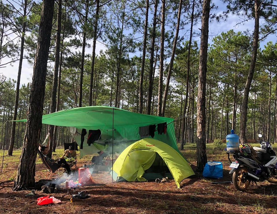 kinh nghiệm cắm trại