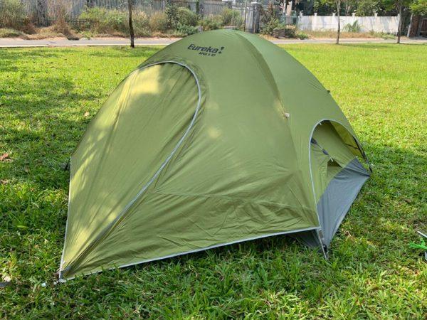 Hình anh lều 2 người sử dụng 2 lớp chống mưa.