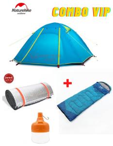 Combo thuê lều 2 người đầy đủ