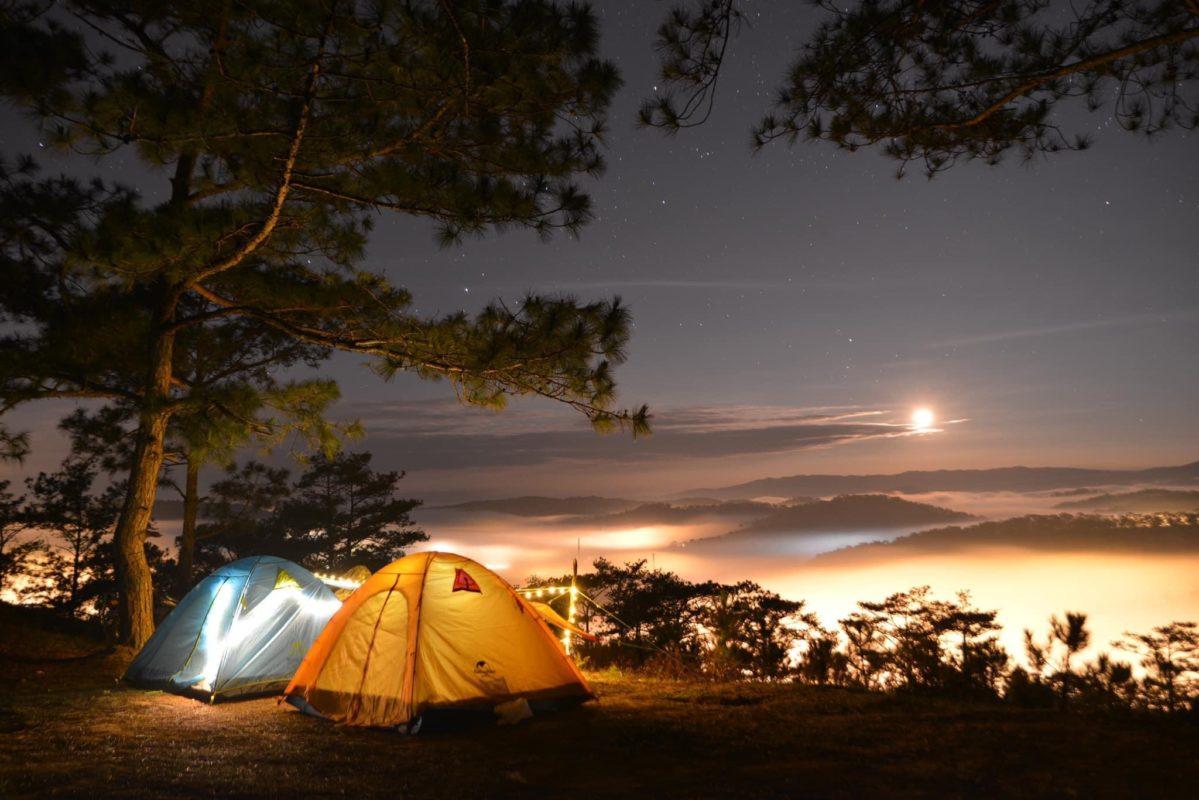 cho thuê đèn lều cắm trại