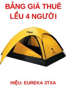 Thuê lều Cắm Trại Cho 4 Người